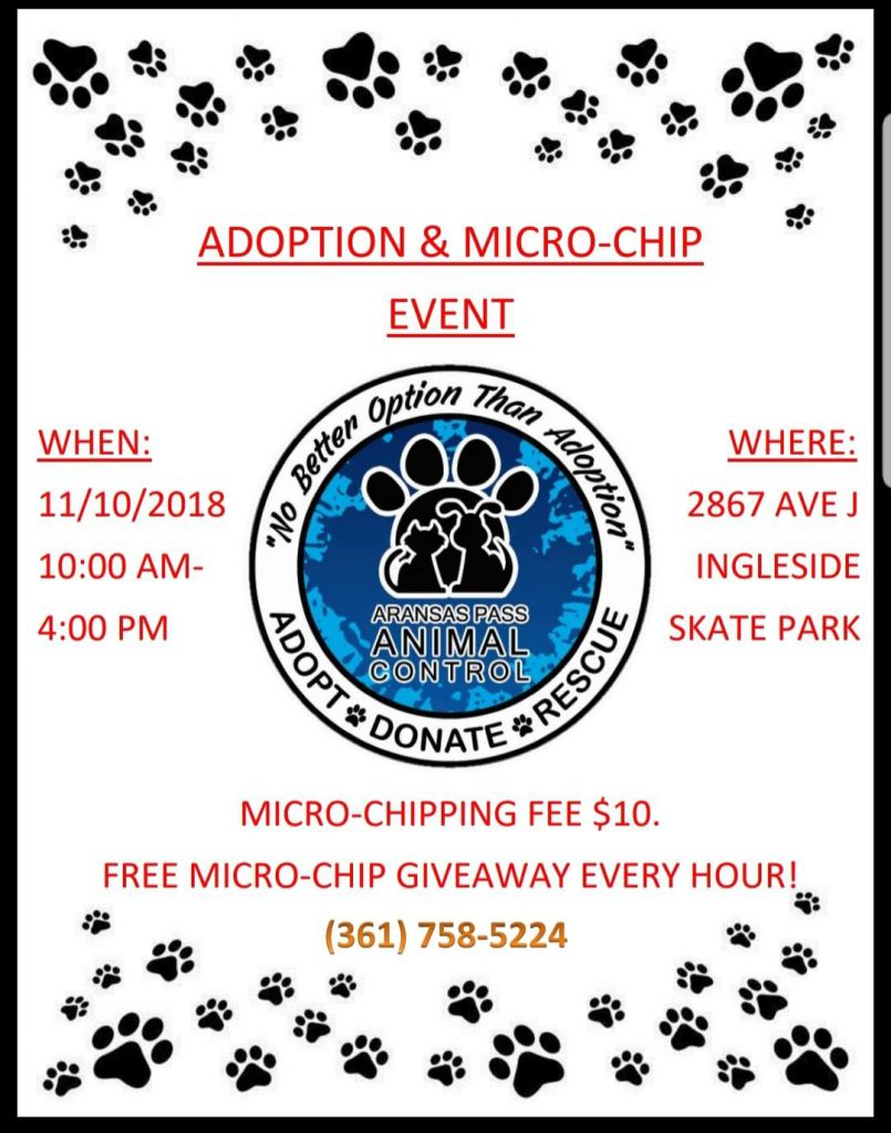 adopt and microchip