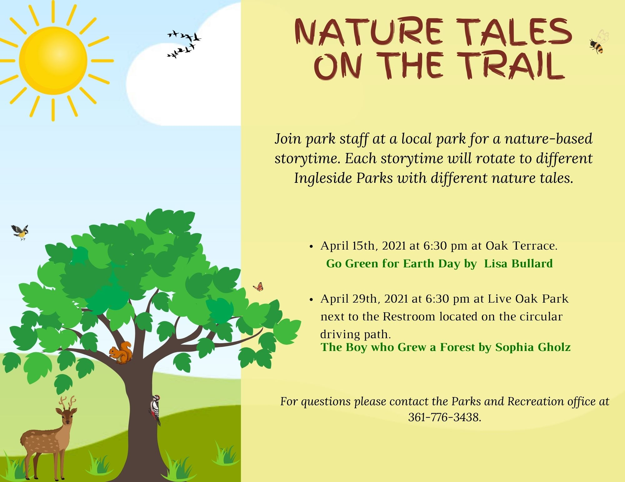 Nature Tales Flyer